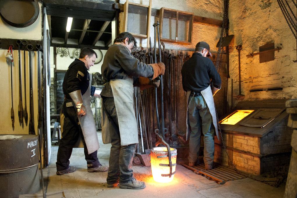 Préparation du métal